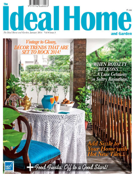 Ideal Home and Garden January 01, 2014 00:00