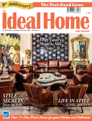 Ideal Home and Garden November 2014