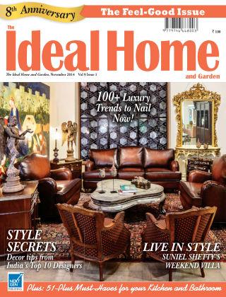 Ideal Home and Garden November 2014