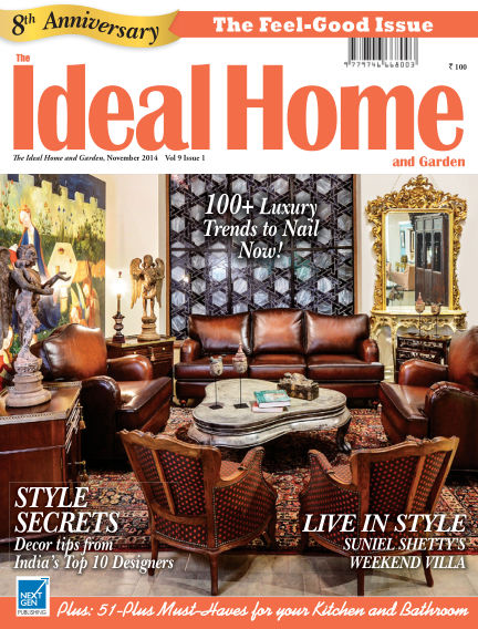Ideal Home and Garden October 31, 2014 00:00