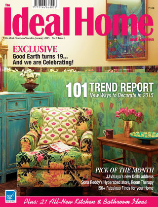 Ideal Home and Garden January 2015