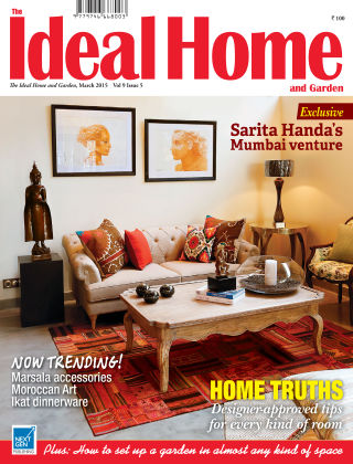 Ideal Home and Garden March 2015