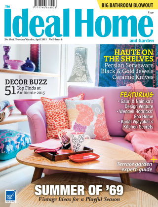 Ideal Home and Garden April 2015