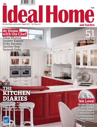 Ideal Home and Garden August 2015