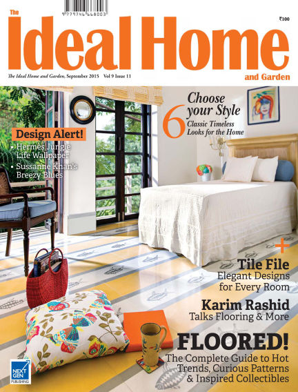 Ideal Home and Garden August 29, 2015 00:00