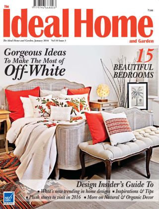 Ideal Home and Garden January 2016