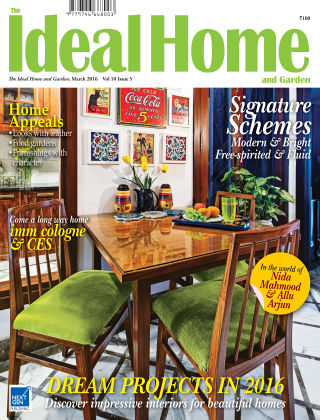 Ideal Home and Garden March 2016