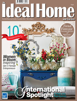 Ideal Home and Garden November 2016