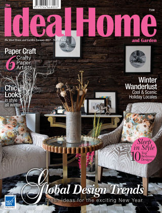Ideal Home and Garden January 2017