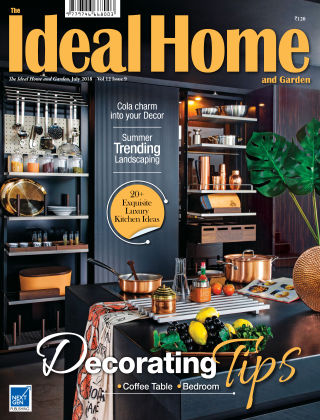 Ideal Home and Garden July 18