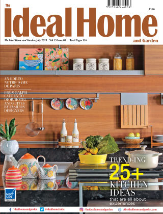 Ideal Home and Garden JULY 2019