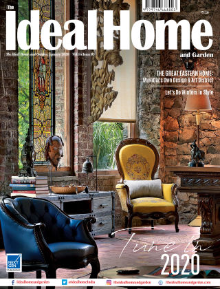 Ideal Home and Garden January