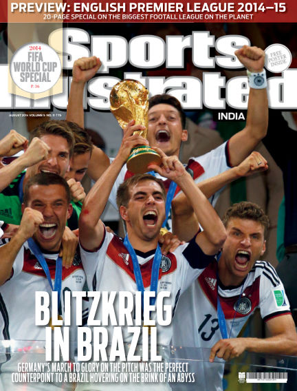 Sports Illustrated India August 13, 2014 00:00