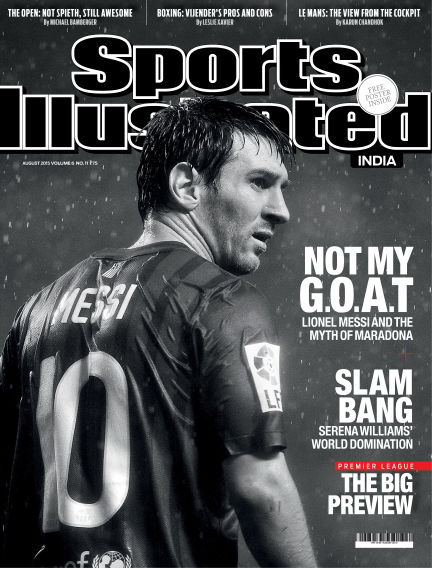 Sports Illustrated India August 07, 2015 00:00