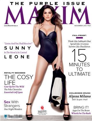 Maxim India November 2013