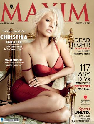 Maxim India October 2013