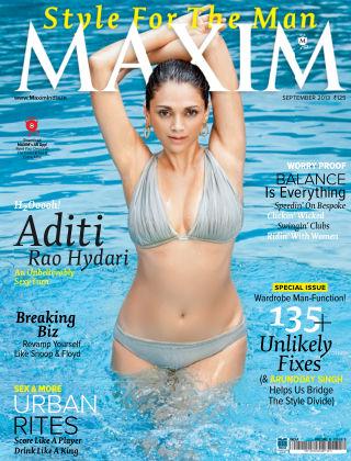 Maxim India September 2013