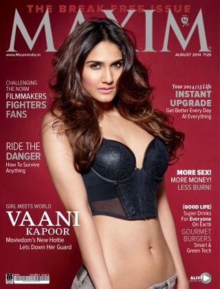 Maxim India August 2014