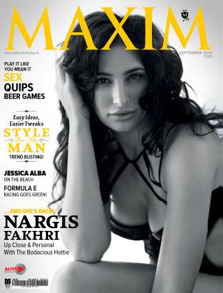 Maxim India September 2014