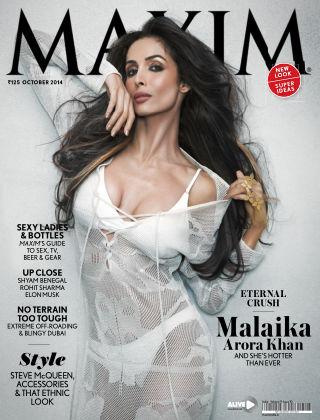 Maxim India October 2014