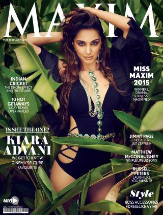 Maxim India February 2015