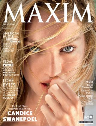 Maxim India August 2015