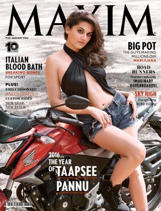 Maxim India January 2016