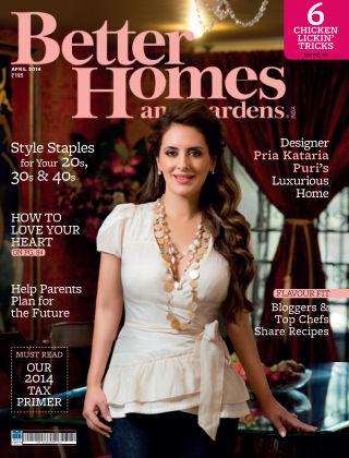 Better Homes & Gardens India 2014-04-01