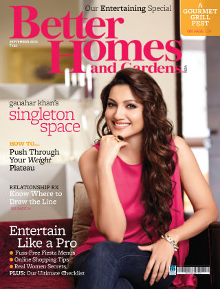 Better Homes & Gardens India September 2013