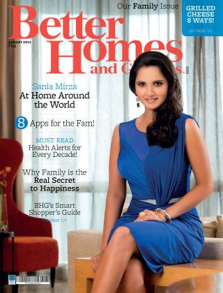 Better Homes & Gardens India August 2013