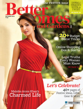 Better Homes & Gardens India October 2013