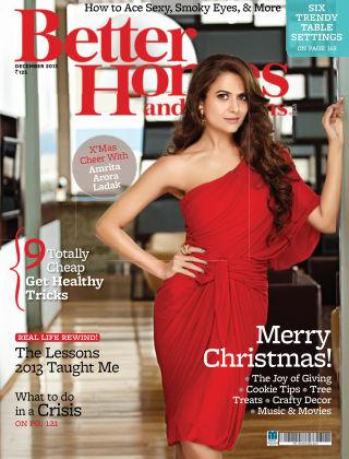 Better Homes & Gardens India December 2013