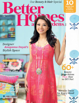 Better Homes & Gardens India July 2014