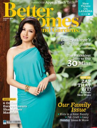Better Homes & Gardens India August 2014
