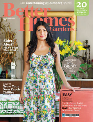 Better Homes & Gardens India September 2014
