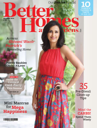 Better Homes & Gardens India October 2014