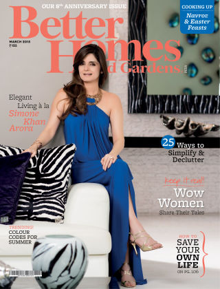 Better Homes & Gardens India March 2015