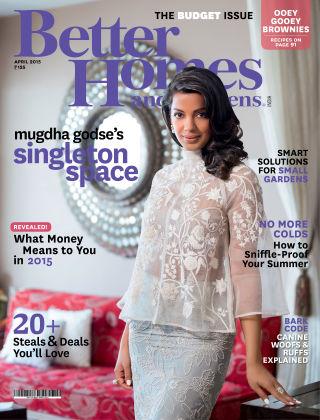 Better Homes & Gardens India April 2015