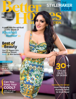 Better Homes & Gardens India September 2015