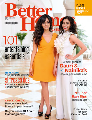 Better Homes & Gardens India October 2015