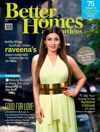 Better Homes & Gardens India February 2016