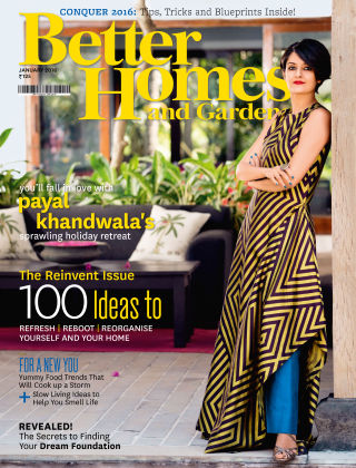 Better Homes & Gardens India January 2016
