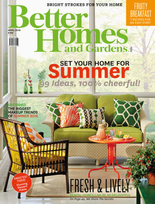 Better Homes & Gardens India April 2016