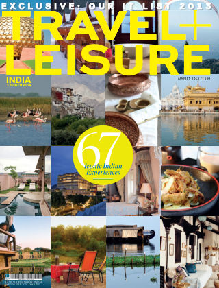 Travel+Leisure India August 2013
