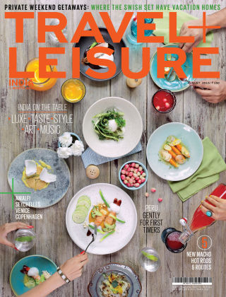 Travel+Leisure India August 2015