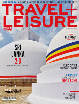 Travel+Leisure India October 2015