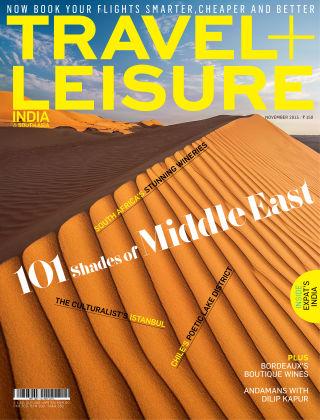 Travel+Leisure India November 2015