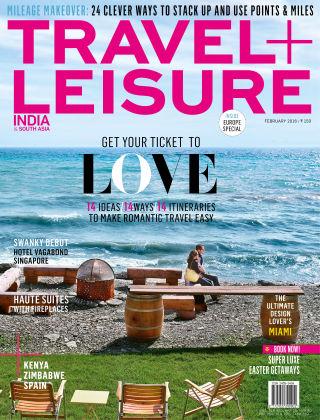 Travel+Leisure India February 2016