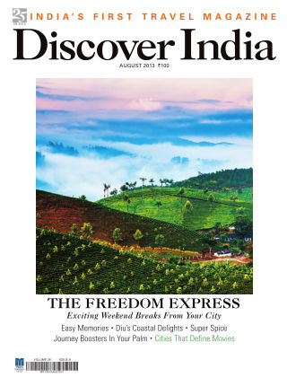 Discover India August 2013