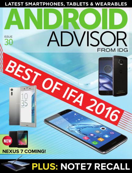 Android Advisor September 23, 2016 00:00